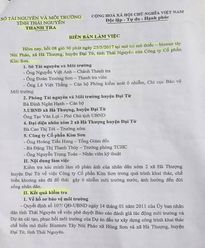 Thái Nguyên yêu cầu Cty CP Kim Sơn hoàn thiện các hạng mục bảo vệ môi trường