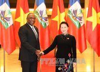 Chủ tịch Quốc hội Nguyễn Thị Kim Ngân đón, hội đàm với Chủ tịch Thượng viện Ha-i-ti