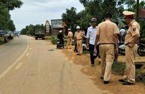 Băng qua đường về nhà bé trai 3 tuổi bị xe tải cán tử vong