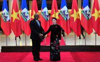 Chủ tịch Quốc hội hội đàm với Chủ tịch Thượng viện Cộng hòa Haiti