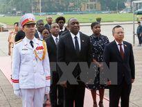 Chủ tịch Thượng viện CH Haiti kết thúc tốt đẹp chuyến thăm Việt Nam