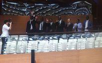 Đoàn đại biểu cấp cao Thượng viện CH Haiti dự thính phiên họp Quốc hội Việt Nam