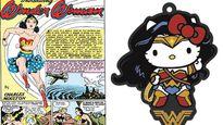 Mèo Kitty bắt tay giúp Wonder Woman