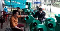 Trai miền núi hí húi chế tạo hàng chục loại máy, giúp nhà nông nhàn