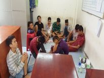 TP.HCM: Băng cướp 12 thiếu niên chuyên dùng dao kiếm gây án
