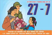 Hà Nội đẩy mạnh tuyên truyền kỷ niệm 70 năm Ngày Thương binh-Liệt sĩ
