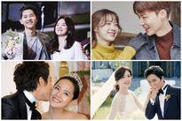11 cặp sao 'phim giả tình thật' hot nhất showbiz Hàn