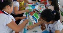 Sôi nổi cuộc thi tô màu tập thể về biển đảo, quê hương tại Tuần lễ sách Sơn Trà 2017