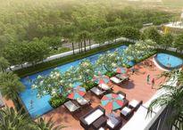 Nam Sài Gòn: Cất nóc công trình Dragon Hill Residence and Suites 2