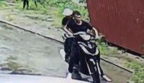 Clip: Để SH trước cửa, bị trộm mất xe trong tích tắc