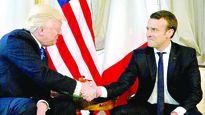 Tổng thống Macron cao tay khi mời ông Trump thăm Pháp?