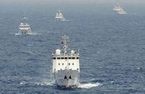 Trung Quốc điều 4 tàu hải cảnh tiến vào lãnh hải của Nhật Bản
