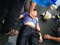 Nam thanh niên bị sét đánh bất tỉnh đã chuyển viện về Hà Nội điều trị