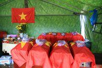 Tìm thấy 21 mộ liệt sĩ hy sinh trận đánh An Điền tại Bình Dương