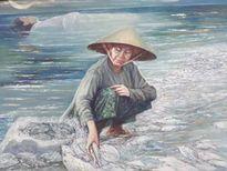 Vụ kỷ luật, tạm giữ bức tranh 'Biển chết': Họa sĩ Nguyễn Nhân sẽ nhận tranh và trả lại tiền