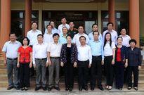 Chủ tịch Quốc hội Nguyễn Thị Kim Ngân thăm, làm việc tại tỉnh Quảng Ngãi