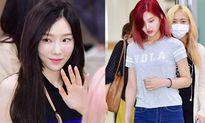 Tae Yeon khoe eo 'con kiến', Red Velvet diện đồ bình dân