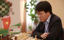 Quang Liêm cầm hòa kỳ thủ top 10 TQ tại Siêu đại kiện tướng