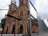 Nhà thờ Đức Bà thêm nhiều hạng mục cần trùng tu