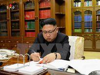Ông Kim Jong-un cho biết đang tìm cách đàm phán hòa bình với Mỹ