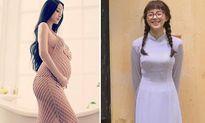 Sao Việt 20/7: Huyền Baby là mẹ bầu 'đẹp nhất Vịnh Bắc Bộ', Sa Lim trẻ măng như 2000