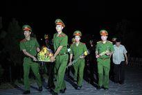 Gần 1.000 học viên Học viện CSND '3 cùng' ở Quảng Nam