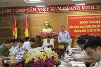 Đoàn công tác Trung ương kiểm tra phòng, chống tham nhũng tại Hà Nam