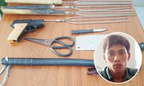 Giả cảnh sát hình sự, 2 thanh niên thủ súng nhựa đi cướp