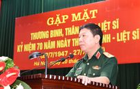 Cơ quan Tổng cục Chính trị gặp mặt thương binh, thân nhân liệt sĩ đang công tác tại tổng cục