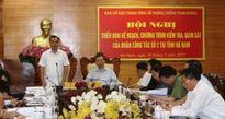 Ban Chỉ đạo T.Ư về phòng, chống tham nhũng triển khai kế hoạch kiểm tra, giám sát tại Hà Nam