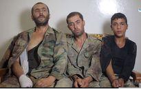 Xuất hiện video 3 binh sỹ quân đội Syria đầu hàng khủng bố IS