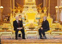 Báo chí Campuchia đưa tin đậm về chuyến thăm của Tổng Bí thư