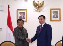 Việt Nam-Indonesia thống nhất tăng cường hợp tác nhiều lĩnh vực