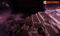 Tàn tích tòa tháp khổng lồ trong lòng đất chùa Phật Tích