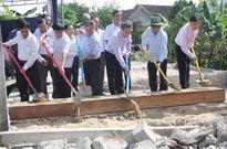 Khởi công xây dựng nhà tình nghĩa cho Mẹ Việt Nam Anh hùng