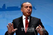 Tổng thống Thổ Nhì Kỳ điện đàm với người đồng cấp Palestine và Israel