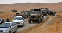 Syria tấn công IS ác liệt tại sa mạc, dọn đường vào Deir ez-Zor