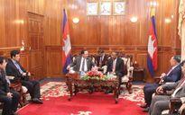 An ninh Việt Nam-Campuchia hợp tác triệt phá nhiều chuyên án