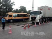 Quảng Ninh quyết liệt ngăn chặn xe quá khổ, quá tải