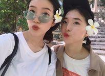 Dân mạng ghen tị với tình bạn của hai cô gái xinh đẹp cùng nắm tay nhau đi du lịch