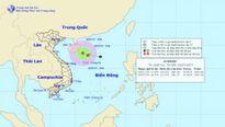 Áp thấp nhiệt đới mạnh lên trên Biển Đông, các tỉnh Bắc Bộ giảm mưa