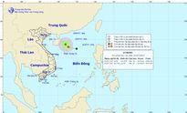 Áp thấp nhiệt đới trên Biển Đông: Gió giật cấp 8-9