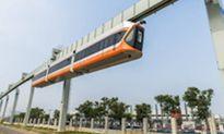 Tàu điện treo chạy nhanh nhất Trung Quốc trình làng