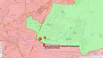 Vệ binh Syria mở hướng tiến công mới phiến quân cố thủ ven Damascus