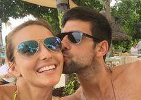 Vợ Djokovic chia sẻ loạt ảnh tình tứ giữa tin đồn chồng ngoại tình