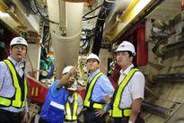 Tuyến Metro số 1 Bến Thành – Suối Tiên đang gấp rút thi công