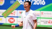 Quần vợt: Lý Hoàng Nam là số 1 Đông Nam Á