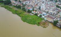 Dân trồng rau, câu cá ở dự án 'lấp sông Đồng Nai'