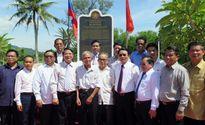 Sắc son tình nghĩa giữa hai địa phương của Việt Nam và Lào