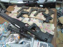 Thu giữ 700 súng nhựa có tính sát thương cao